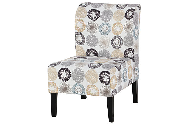 Triptis Accent Chair, Gray/Tan, large