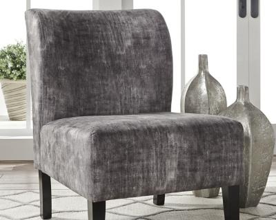 Triptis Accent Chair, Charcoal, large