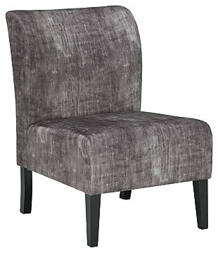 Triptis Accent Chair, Charcoal, large