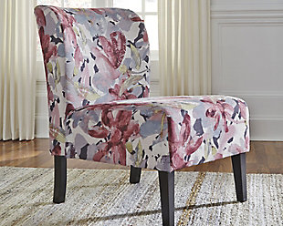 Triptis Accent Chair, Floral, rollover