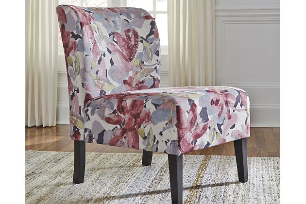 Triptis Accent Chair, Floral, large