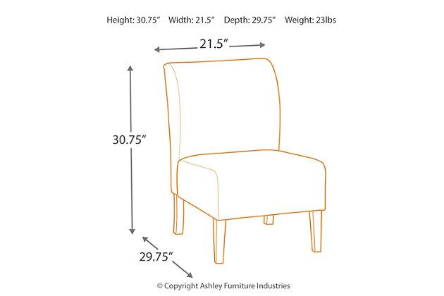 Triptis Accent Chair, Floral, large