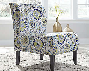 Triptis Accent Chair, Blue/Green, rollover