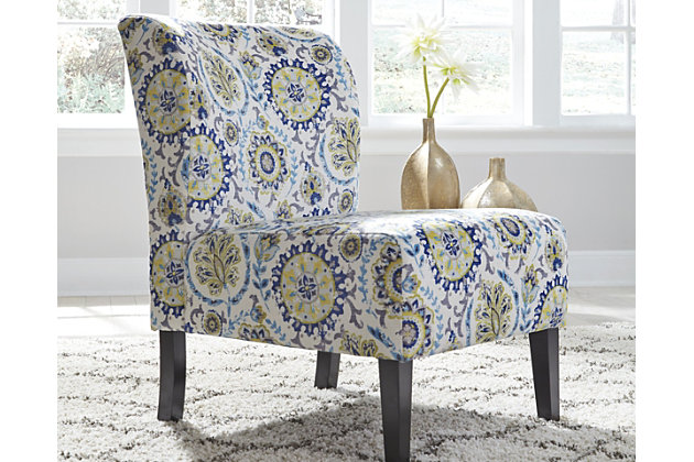 Triptis Accent Chair Blue Green Large