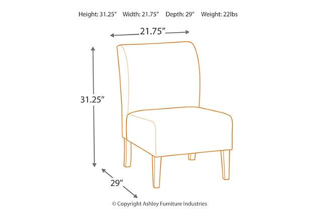 Triptis Accent Chair, Denim, large