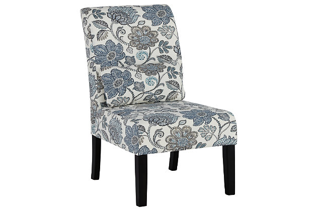 Sesto Accent Chair, Denim, large