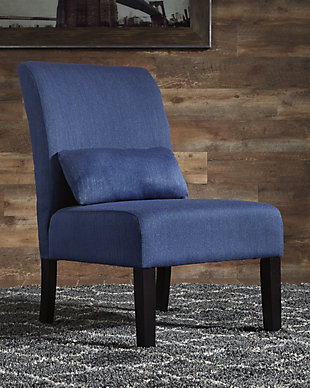 Sesto Accent Chair, Blue, rollover