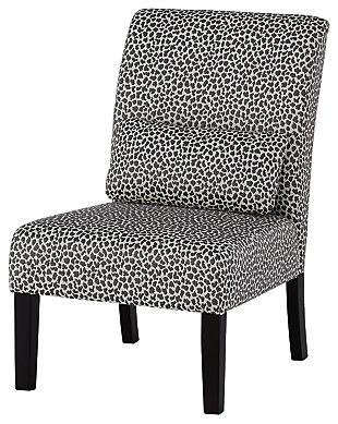 Sesto Accent Chair, Gray/Ivory, large