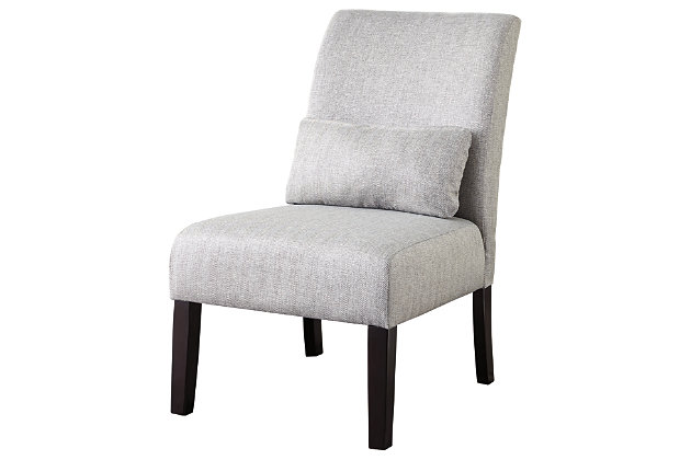 Sesto Accent Chair, Gray, large