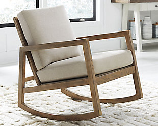 Novelda Rocker Accent Chair, , rollover
