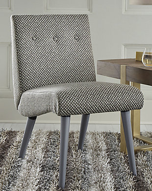 Zittan Accent Chair, Stone, rollover