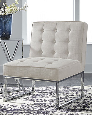 Cimarosse Accent Chair, Ivory, rollover