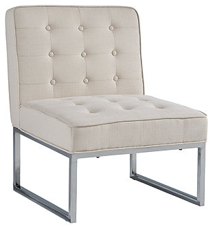 Cimarosse Accent Chair, Ivory, large