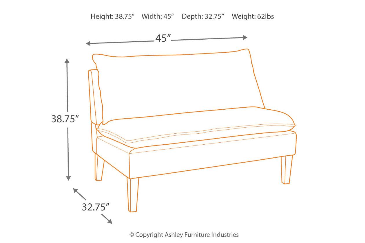 Enjoyable Arrowrock Accent Bench Ashley Furniture Homestore Unemploymentrelief Wooden Chair Designs For Living Room Unemploymentrelieforg