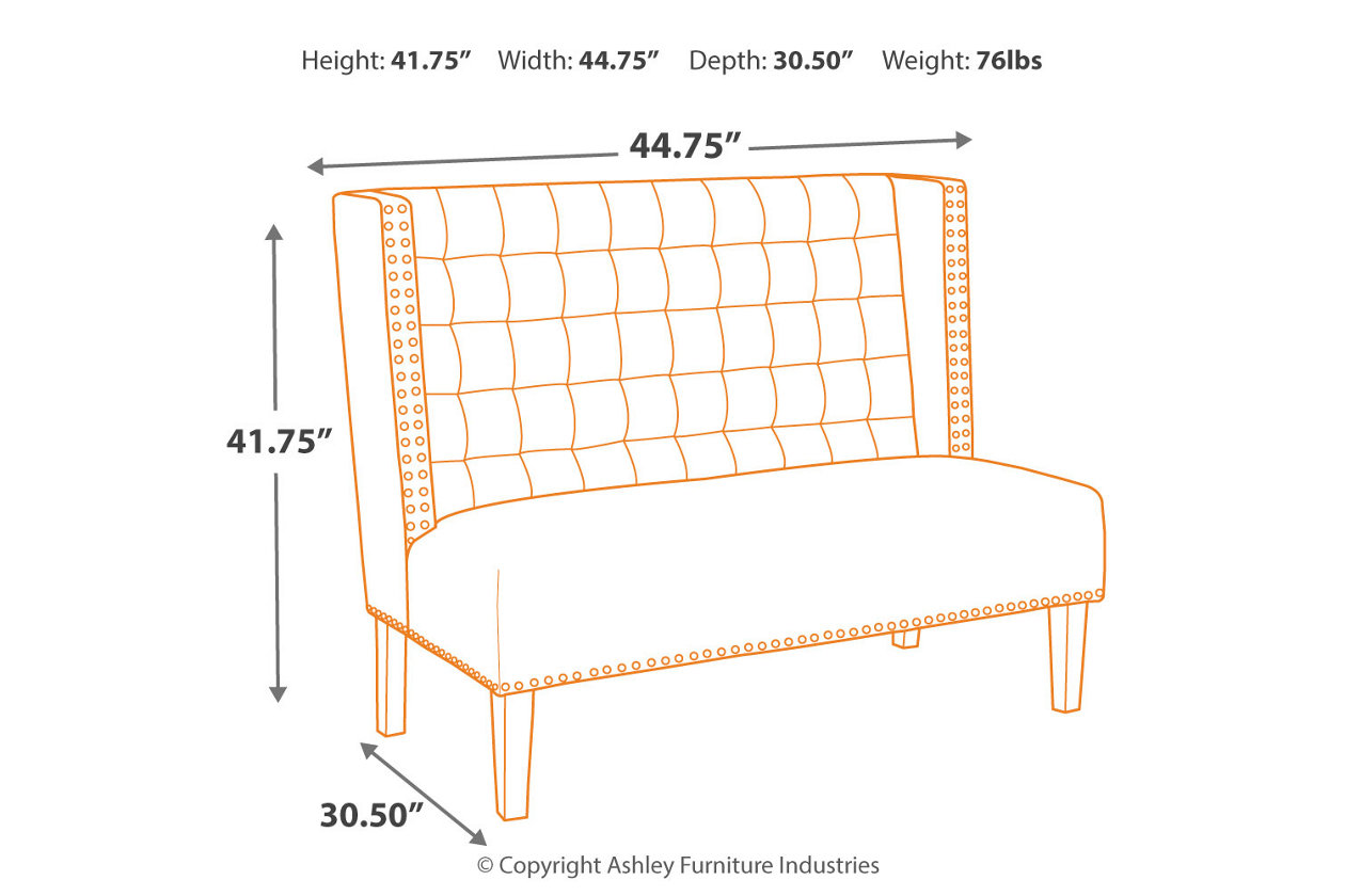 Phenomenal Beauland Accent Bench Ashley Furniture Homestore Andrewgaddart Wooden Chair Designs For Living Room Andrewgaddartcom