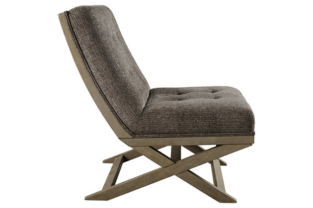 Sidewinder Accent Chair, Taupe, large