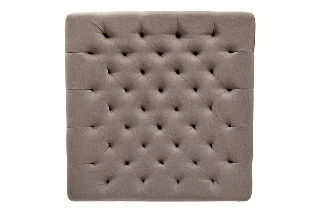 Moondusk Oversized Accent Ottoman, , large