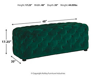 Lister Accent Ottoman, , large