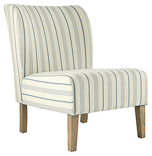 Triptis Accent Chair, Cream/Blue, large
