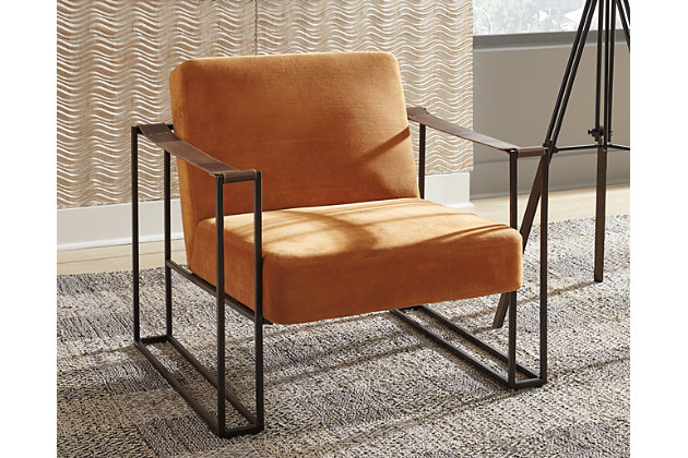 Kleemore Accent Chair, Amber, large