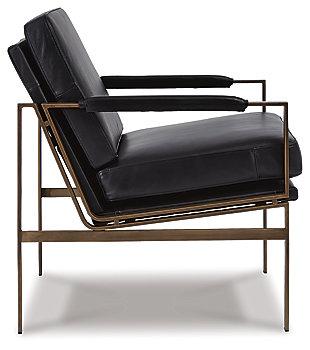 Puckman Accent Chair, Black, large