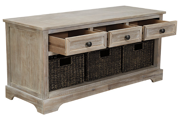 Oslember Storage Bench, , large