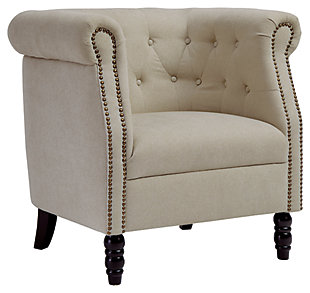 Jacquelyne Accent Chair, Natural, large
