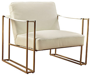 Kleemore Accent Chair, Cream, large