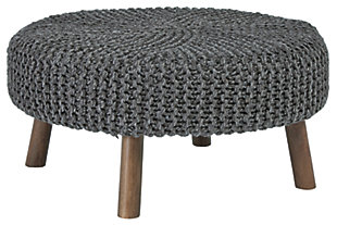 Jassmyn Oversized Accent Ottoman, , large