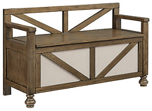 Brickwell Storage Bench, , large
