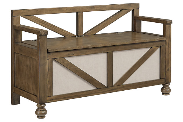 Brickwell Storage Bench, , large