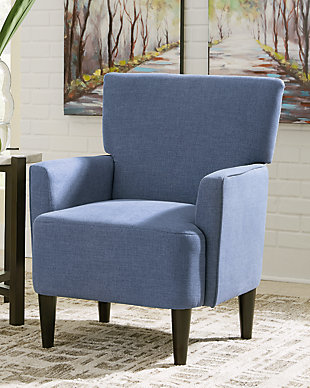 Hansridge Accent Chair, Blue, rollover
