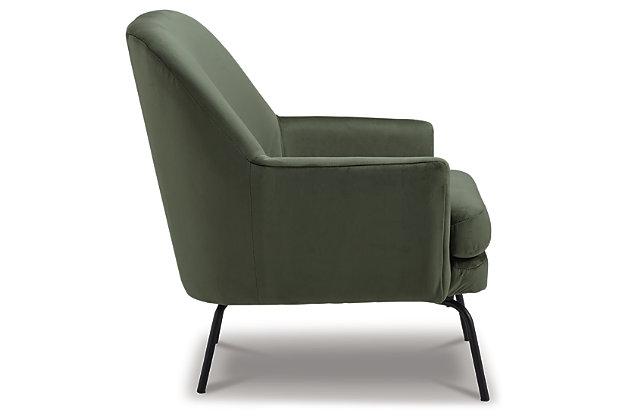 Dericka Accent Chair, Moss, large