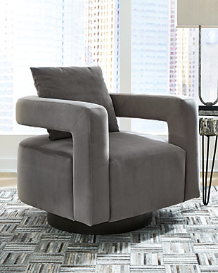 Alcoma Swivel Accent Chair, , rollover