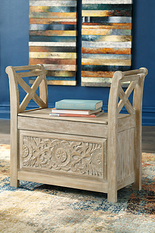 Fossil Ridge Accent Bench, , rollover