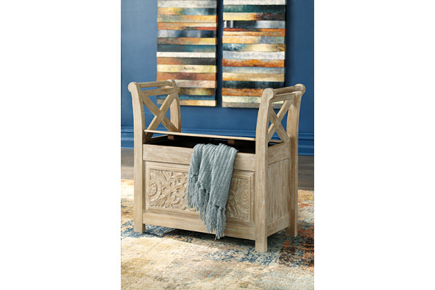 Fossil Ridge Accent Bench, , large