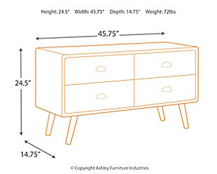 Camp Ridge Sofa Table, , large