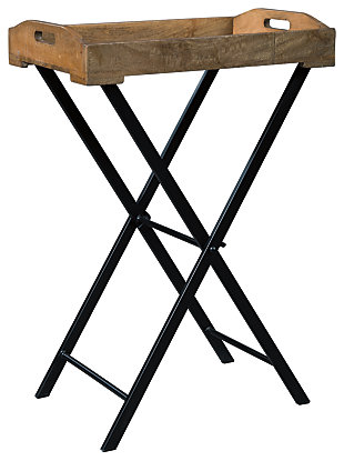 Cadocridge Accent Table, Brown/Black, large