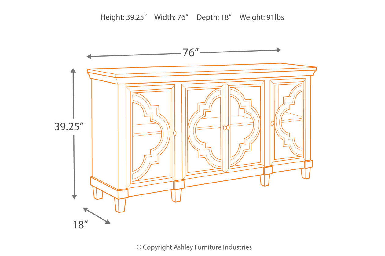 Tremendous Fossil Ridge Accent Cabinet Ashley Furniture Homestore Spiritservingveterans Wood Chair Design Ideas Spiritservingveteransorg