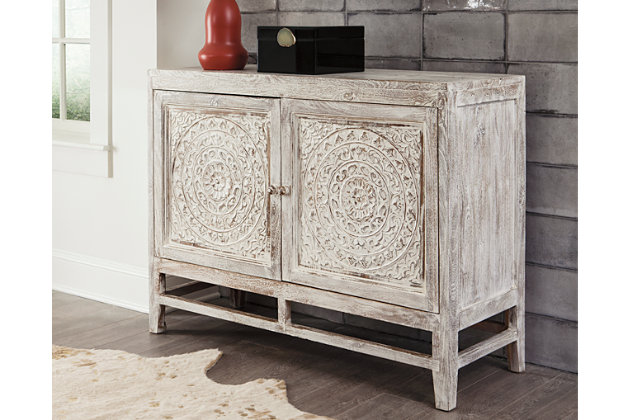 Fossil Ridge Accent Cabinet Ashley Furniture Homestore