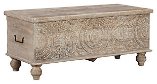 Fossil Ridge Storage Bench, ...