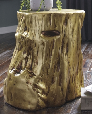 Image of Majaci Accent Table, Gold