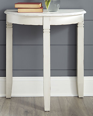 Birchatta Console Table, White, rollover