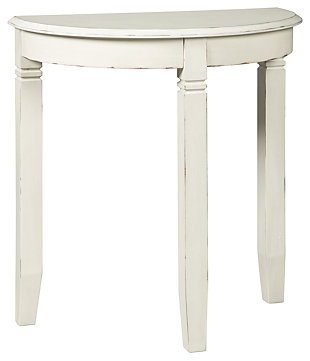 Birchatta Console Table, White, large