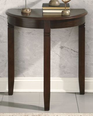 Image of Birchatta Console Table, Rich Brown