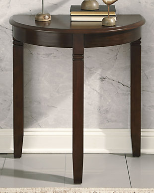 Birchatta Console Table, Rich Brown, rollover