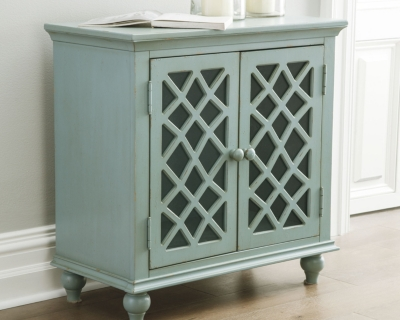 Cabinet Antique Teal Accent Product Photo 2497