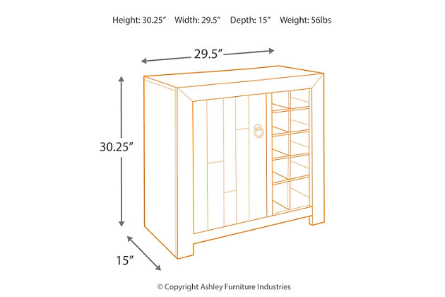 Forestmin Wine Cabinet, , large