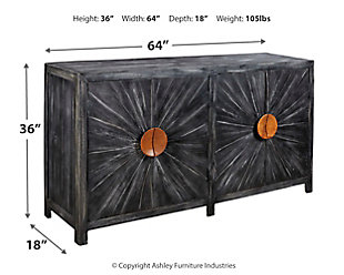 Kademore Accent Cabinet, , large