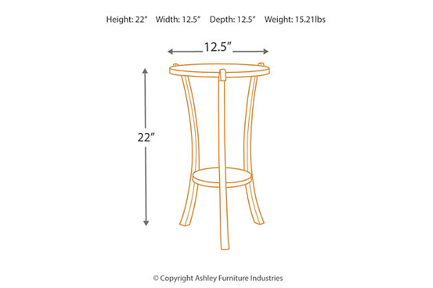 Enderton Accent Table, , large
